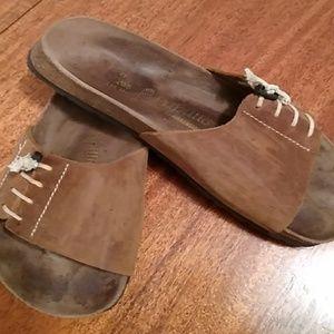 Birkenstock sandals size 10.